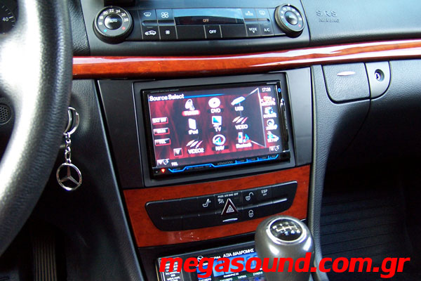 Mercedes W211-Kenwood 2DIN
